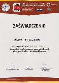 certyfikat Regulacje Unijne w DDD